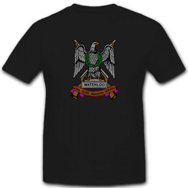 Waterloo Royal Scots Dragoon Guards England United Kingdom - T Shirt # 11161