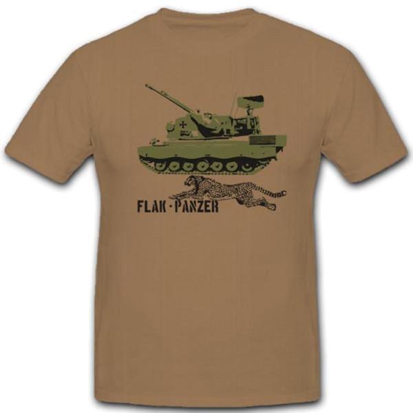 Flugabwehrkanonenpanzer Gepard Flakpz Bundeswehr Heer T Shirt #3613