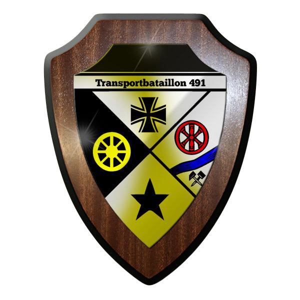 Wappenschild- Transportbataillon 491 Logistikbrigade Bw Wappen Abzeichen #8858