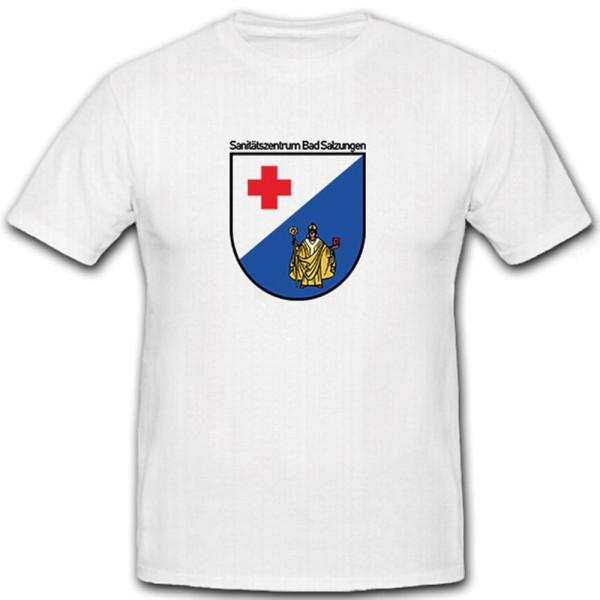 Werratal Kaserne Sanitätszentrum Bad Salzungen Santitäter Wappen - T Shirt #6957