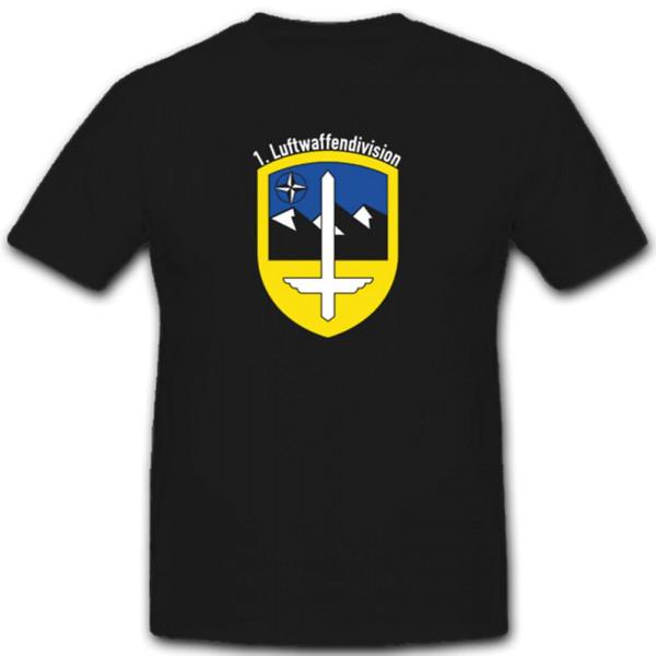 Wappen Kommando Deutsche Bundeswehr Nato Kfor 1.Kp- T Shirt #3923