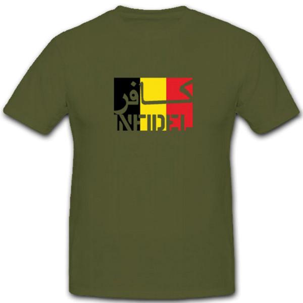 Belgien Infidel Belgien Ungläubiger - T Shirt #7583