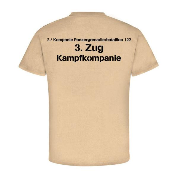 2. Kompanie Panzergrenadierbataillon 122 3. Zug Kampfkompanie - T Shirt #12025