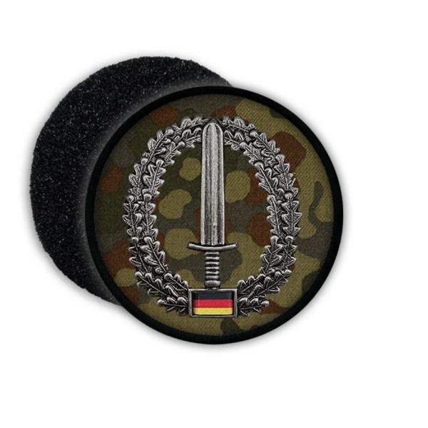 Patch Kommando Spezialkräfte KSK Barett Abzeichen Patch Tarnung Schwert #20864