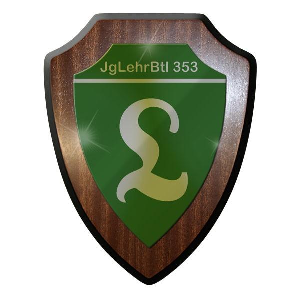 Wappenschild - Jäger Lehr Bataillon JgLehrBtl 353 Bundeswehr BW #8989