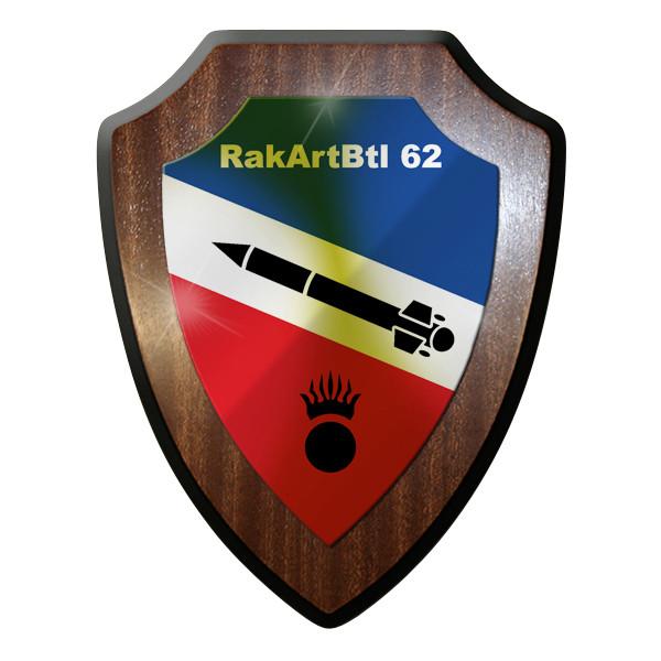 Wappenschild - RakArtBtl 62 RaketenArtillerieBataillon 62 Heer Bundeswehr #9298