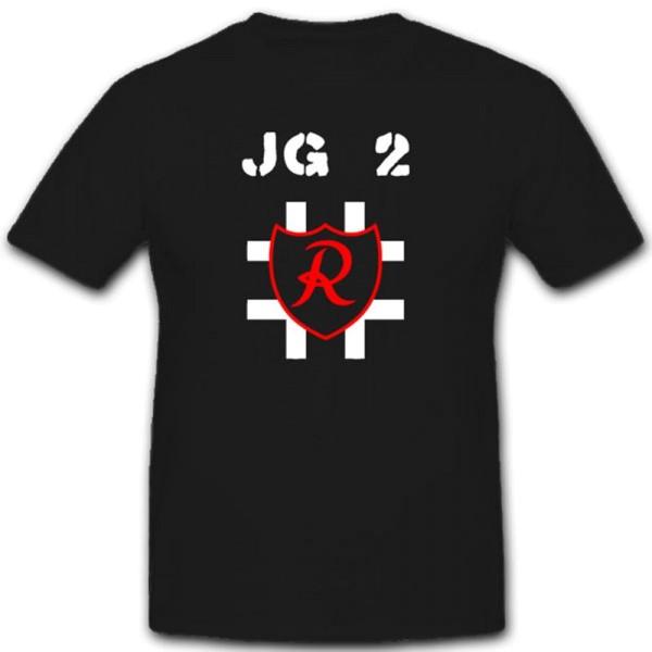 Jagdgeschwader Militär Luftwaffe WH Einheit Wappen Abzeichen- T Shirt #2062