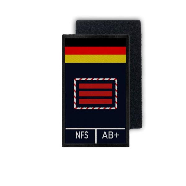 Rank Patch Feuerwehr Hauptbrandmeister HBM Feuer Brandwehr 9,8x6cm #31750