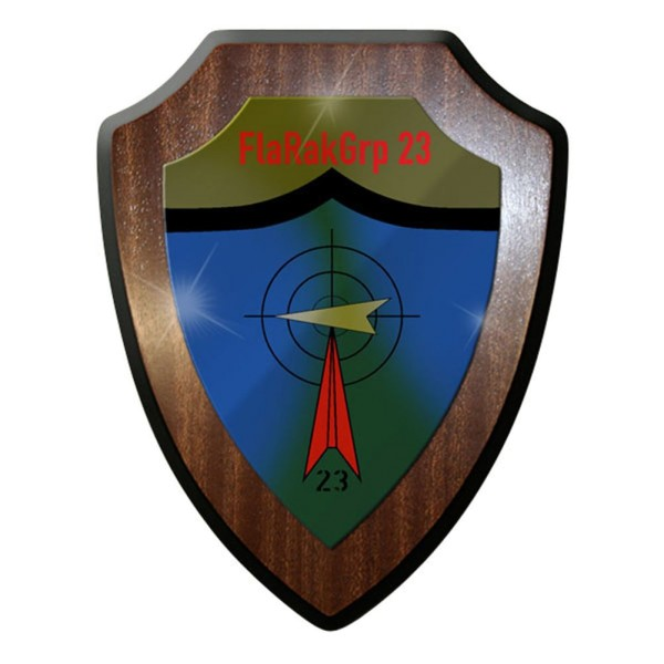 Wappenschild - Flugabwehrraketengruppe FlaRakGrp 23 Bw #8386
