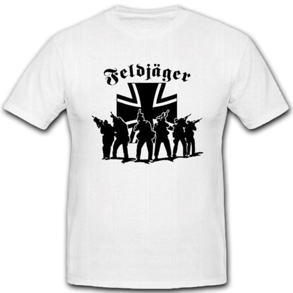 Feldjäger elite military Bundeswehr unit deployment police cross T Shirt # 12489