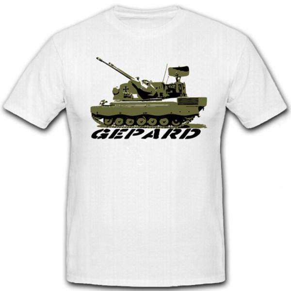 Flakpanzer Gepard Bundeswehr Flug Abwehr Flugabwehrkanonenpanzer - T Shirt #7170