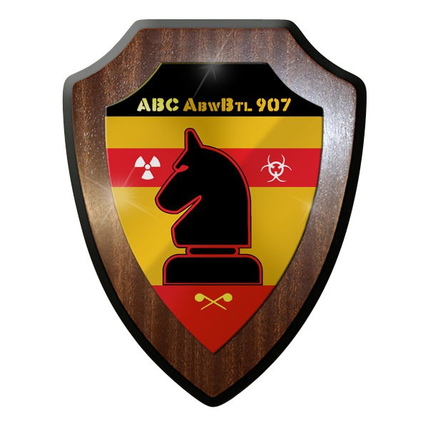 Wappenschild / - ABC Abwehr Bataillon ABC AbwBtl 907 Wappen Abzeichen #8976