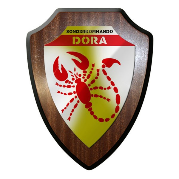 Wappenschild / Wandschild - Sonderkommando DORA Deutsches DAK Wappen #12620