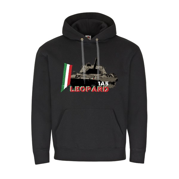 Leopard 1A5 Leo Italien Panzer Division Fahne Flagge - Pullover Hoodie #10283