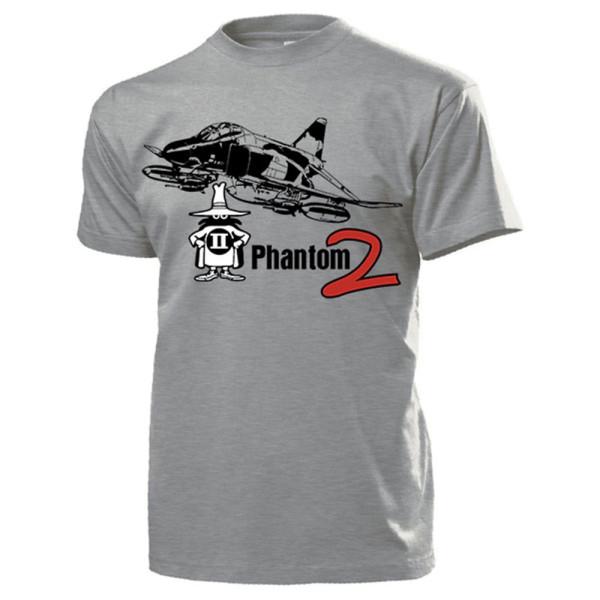 Phantom 2 zweistrahliges überschall Kampfflugzeug Luftwaffe - T Shirt #14077