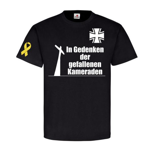 In Gedenken der gefallenen Kameraden BW Soldaten Reservist T Shirt #20418