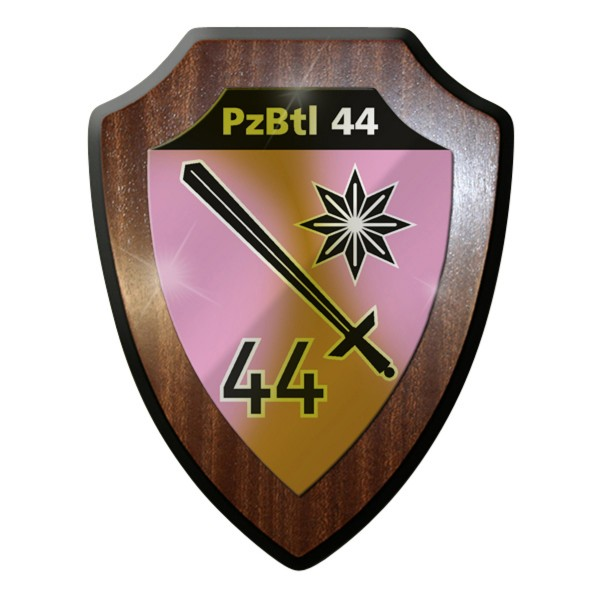 Wappenschild Panzerbataillon PzBtl 44 Leopard Kampfpanzer Kampftruppe #9319