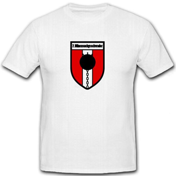 7. Minensuchgeschwader MSG Flotille der Minenstreitkräfte - T Shirt #6505