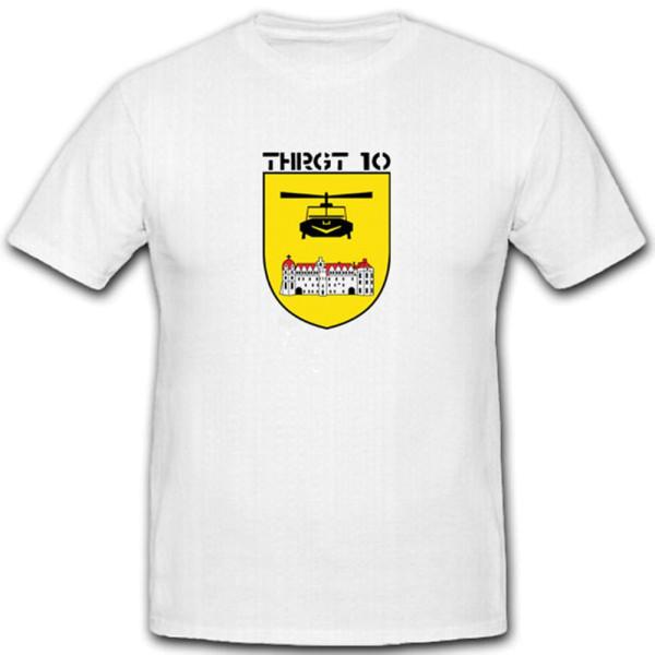 Transport Hubschrauber Regiment 10 Bundeswehr Wappen Abzeichen - T Shirt #3648