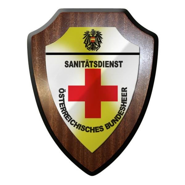 Wappenschild - Sanitätsdienst Sanitäter Erste Hilfe Österreich #10073