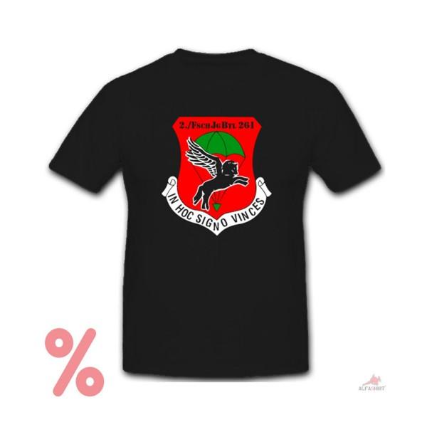 SALE Shirt 2 FschJgBtl 261 Fallschirmjäger Bataillon Einheit T-Shirt # R111