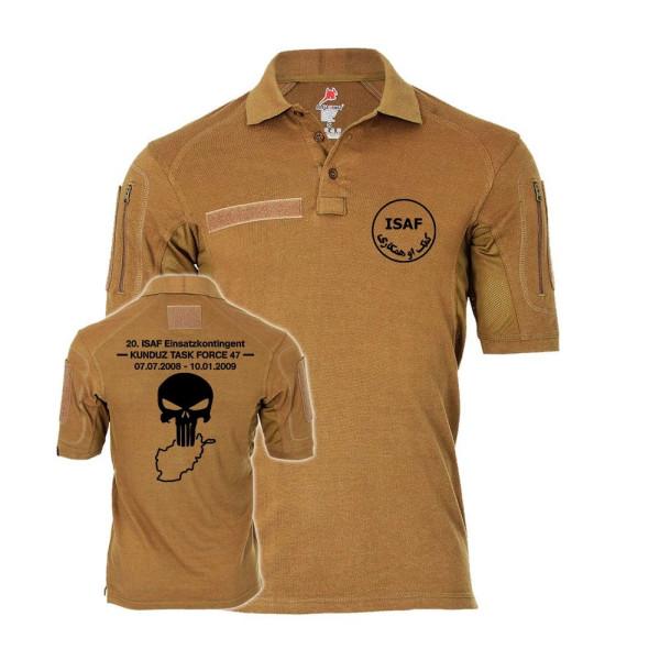 Tactical Poloshirt Kunduz TASK Force 47 ISAF Afghanistan Einsatzkontigent #31927