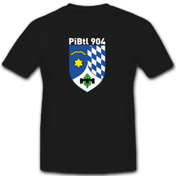 PiBtl 904 Pioneer Pioneers Battalion Bundeswehr Bund Deutschland- T Shirt # 10143