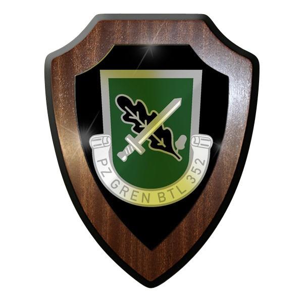 Wappenschild Panzergrenadierbataillon 352 PzGrenBtl Bundeswehr BW Abzeichen#9015