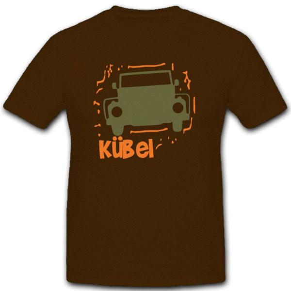 Kübel Kübelwagen Militär-PKW Fahrzeug Kfw Geländewagen Auto - T Shirt #5496