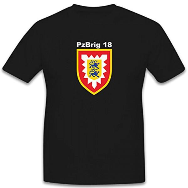 PzBrig 18 Stabskompanie Panzerbrigade Bundeswehr Wappen Abzeichen- T Shirt #5797