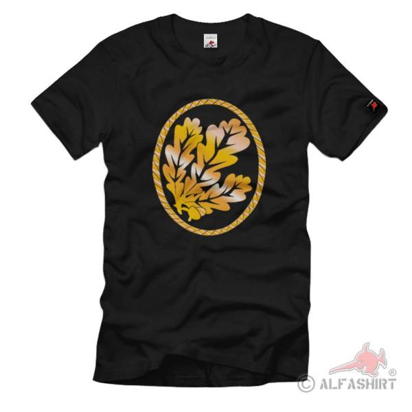 Beret Badge Hunter Troop Oak Leaves Badge Crest - T Shirt # 1344