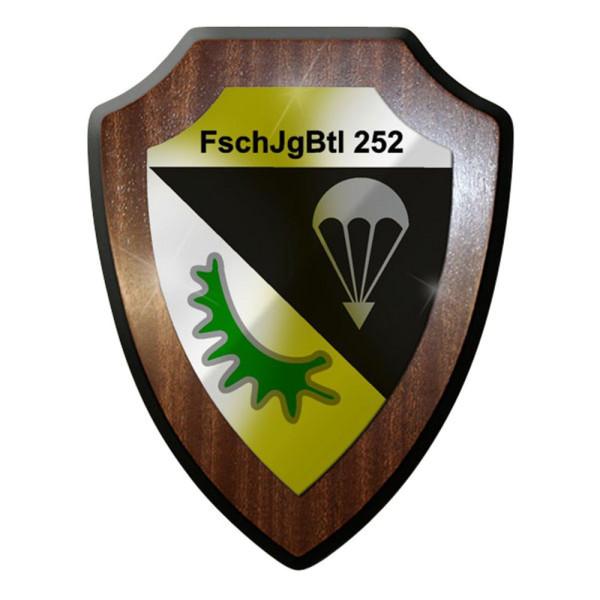Wappenschild FschJgBtl 252 Fallschirmjägerbataillon Fallschirmjäger #8387