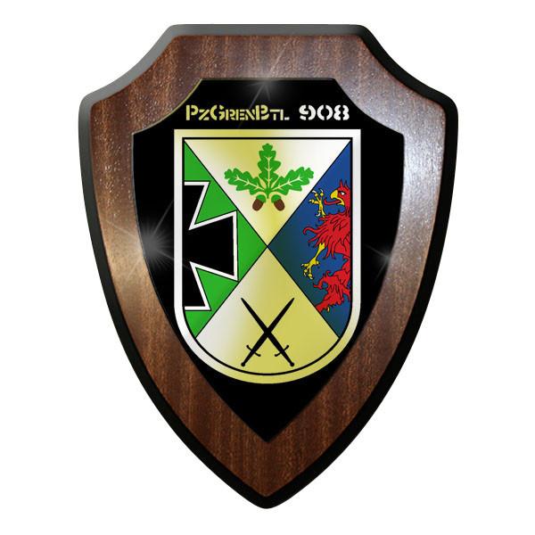 Wappenschild - PanzerGrenadierBataillon pzgrenbtl 908 Bundeswehr BW #9006