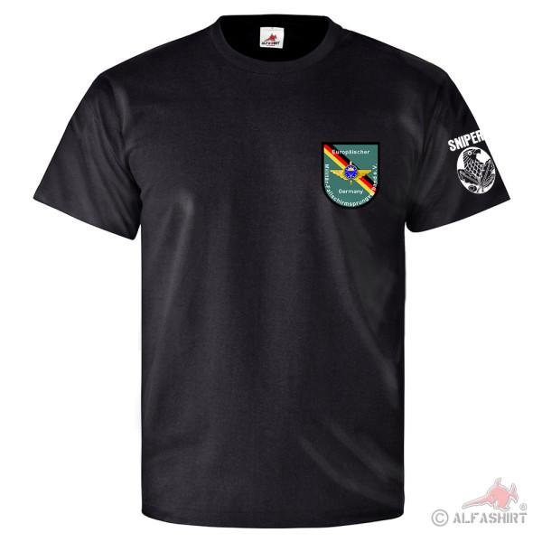 EMFV Sniper Europäischer Militär Fallschirmsprung Verband - T Shirt #25776