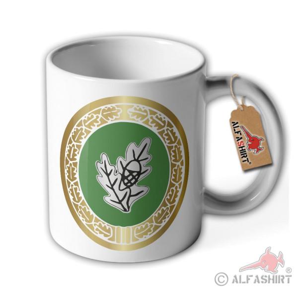 Cup lone fighter Bundeswehr badge, coffee mug, mug # 36266