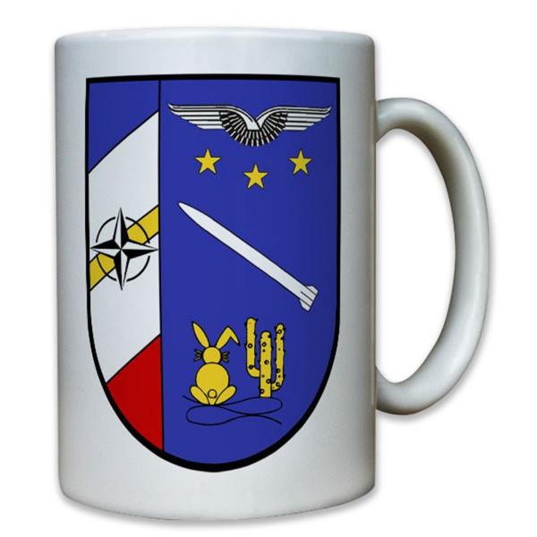 3. Staffel Flugabwehrraketengruppe 21 Bundeswehr Luftwaffe Wappen - Tasse #8052