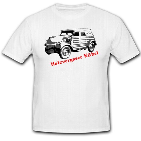 Holzvergaser Kübel Auto Bundeswehr WK WH Fahrzeug BW - T Shirt #1223