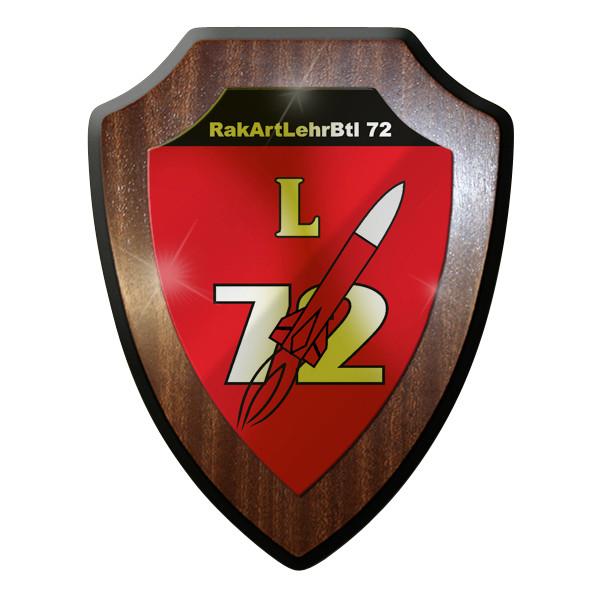 Wappenschild - RakArtLehrBtl 72 RaketenArtillerieLehrBataillon Bundeswehr #9296