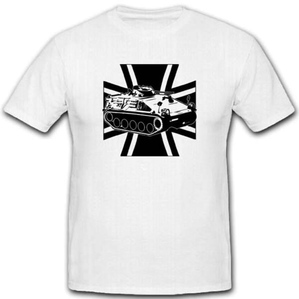 Spz Kurz 1A1 Schützenpanzer Bw Kreuz Bundeswehrkreuz - T Shirt #3558
