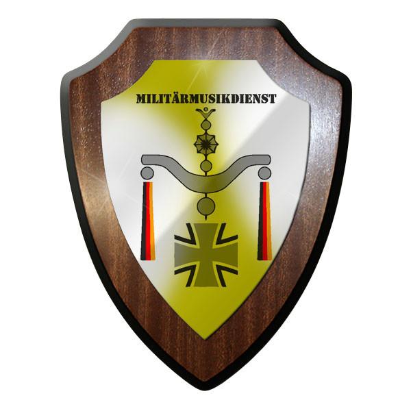 Wappenschild - Musikkorps Militärmusikdienst Militär Bw Abzeichen Emblem #8855