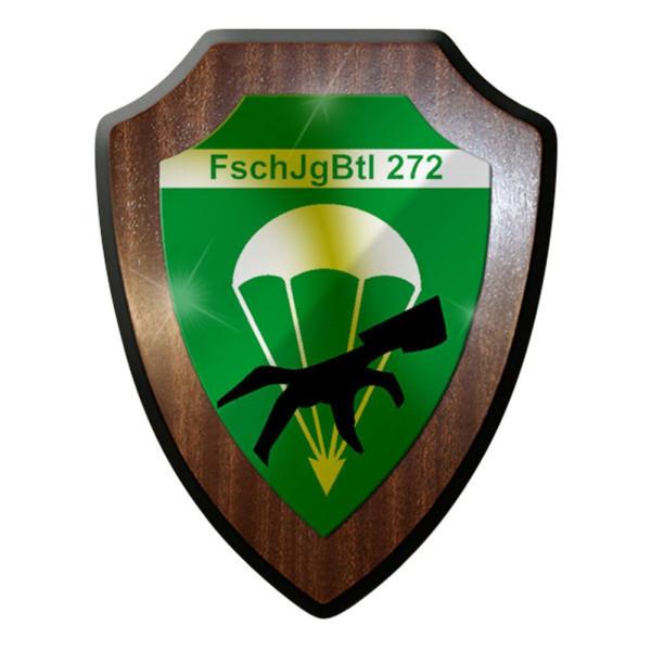 Wappenschild / Wandschild / Wappen - Fallschirmjägerbataillon FschJgBtl 272#8358