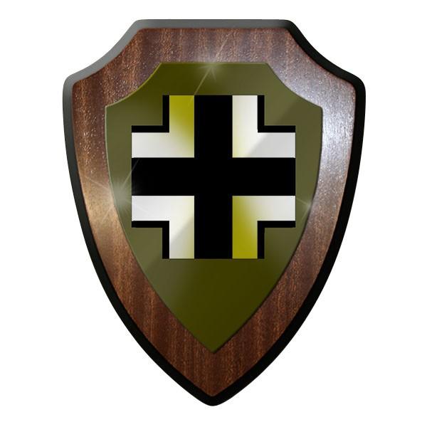 Wappenschild / Wandschild / Wappen - WK 2 WW II EK Balkenkreuz #11307