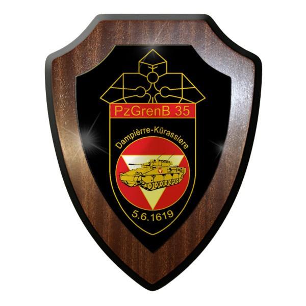 Wappenschild - Panzergrenadierbataillon 35 PzGrenBtl Bundesheer Österreich #9024