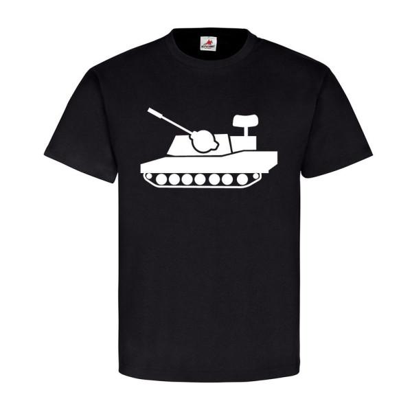 Flak Panzer Gepard Flugabwehrkanonenpanzer FlakPz Bund - T Shirt #12832