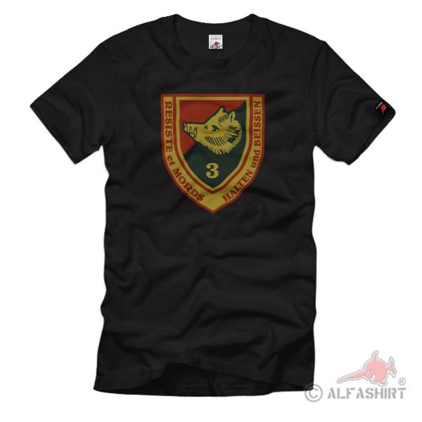 Third Battalion of the Ardennes Jäger Infantry Unit Heer T-Shirt # 36213