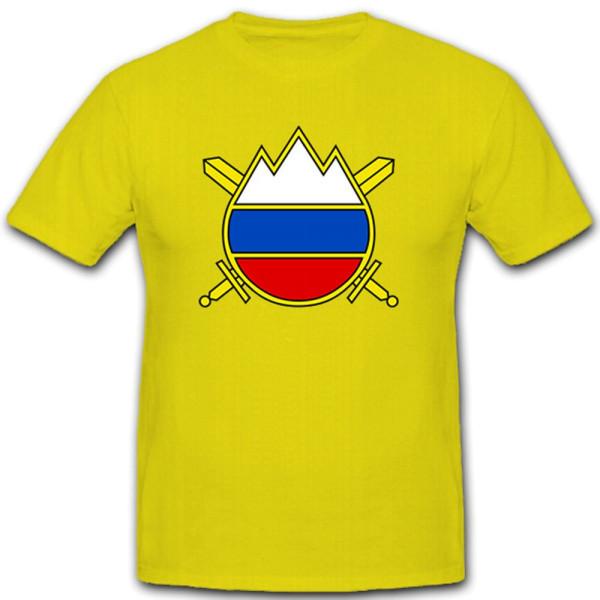 Slowenische Armee Wappen Abzeichen Soldat - T Shirt #10410