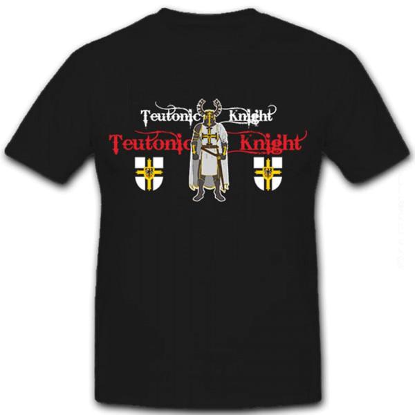 Teutonic Knight Deutscher Ritterorden Schwert Rüstung Ritter - T Shirt #8574