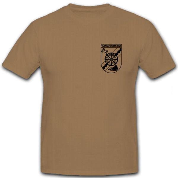 1 PzGrenBtl 332- T Shirt #6574