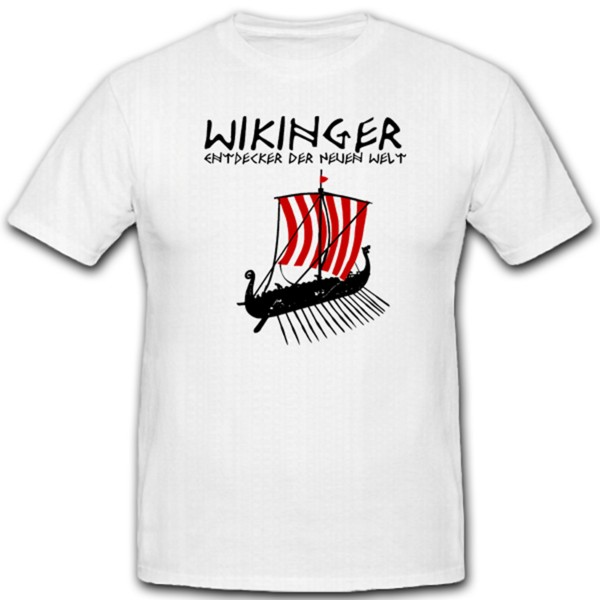 Wikinger Entdecker Neue Welt Lanze Speer Schiff Flagge Germaisches #1226