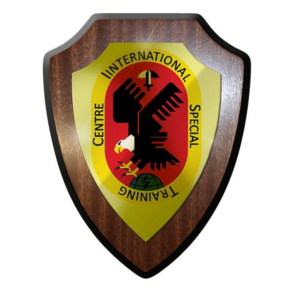 Wappenschild / Wandschild / Wappen - ISTC International Special NATO Bw #8724